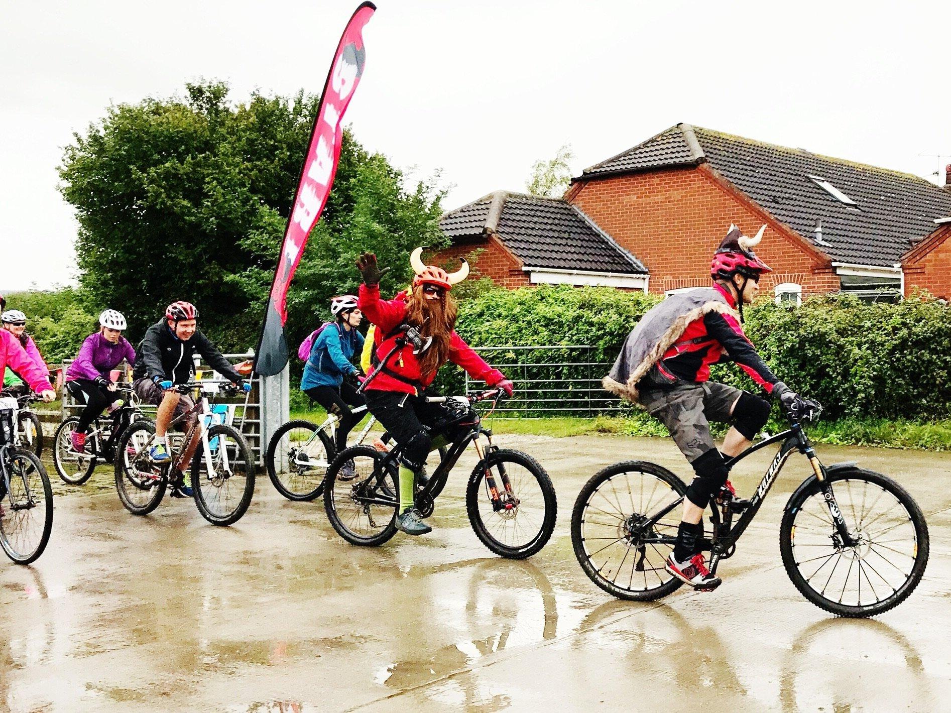 Vikings cycling start